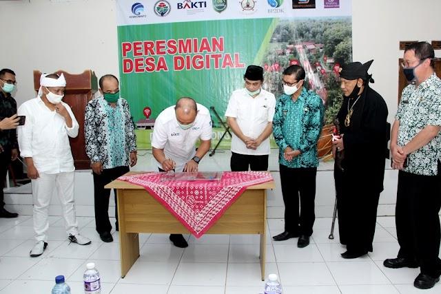 Peresmian Desa Digital Desa Cirangkong Kecamatan Cijambe Subang