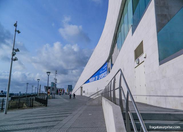 Fachada do Museu de Liverpool