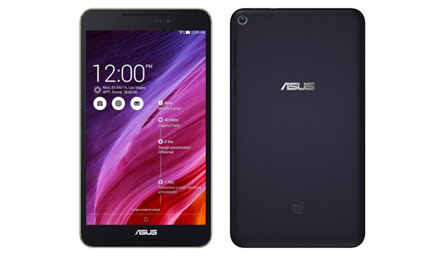 Asus Fonepad 8 FE380CG Specifications - LAUNCH Announced 2014, June DISPLAY Type IPS LCD capacitive touchscreen, 16M colors Size 8.0 inches (~72.3% screen-to-body ratio) Resolution 800 x 1280 pixels (~189 ppi pixel density) Multitouch Yes, up to 10 fingers Protection Oleophobic coating BODY Dimensions 214 x 120 x 8.9 mm (8.43 x 4.72 x 0.35 in) Weight 328 g (11.57 oz) SIM Dual SIM (Micro-SIM, dual stand-by) PLATFORM OS Android OS, v4.4.2 (KitKat) CPU Quad-core 1.33 GHz Chipset Intel Atom Z3530 GPU PowerVR G6430 MEMORY Card slot microSD, up to 64 GB (dedicated slot) Internal 8/16 GB, 1/2 GB RAM CAMERA Primary 5 MP, autofocus Secondary 2 MP Features Geo-tagging Video 720p NETWORK Technology GSM / HSPA 2G bands GSM 850 / 900 / 1800 / 1900 - SIM 1 & SIM 2 3G bands HSDPA 850 / 900 / 1900 / 2100 Speed HSPA 42.2/5.76 Mbps GPRS Yes EDGE Yes COMMS WLAN Wi-Fi 802.11 b/g/n, hotspot GPS Yes, with A-GPS, GLONASS USB microUSB v2.0 Radio No Bluetooth v4.0, A2DP FEATURES Sensors Accelerometer, proximity, compass Messaging SMS(threaded view), MMS, Email, Push Mail, IM Browser HTML5 Java No SOUND Alert types Vibration; MP3, WAV ringtones Loudspeaker Yes, with stereo speakers 3.5mm jack Yes BATTERY  Non-removable Li-Po battery (15.2 Wh) Stand-by  Talk time Up to 21 h (3G) Music play  MISC Colors Black, White, Red, Gold  - MP3/WAV/WMA/AAC player - MP4/H.264 player - Document viewer - Photo viewer/editor - Voice memo/dial