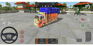 download mod bussid truck canter anti gosip