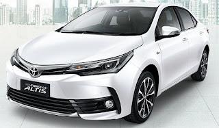 Harga Toyota Corolla Altis Super White di Pontianak