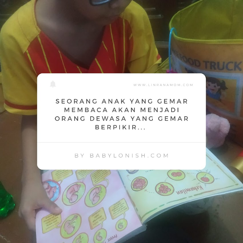 Parenting Blogger Medan: Picky Reader
