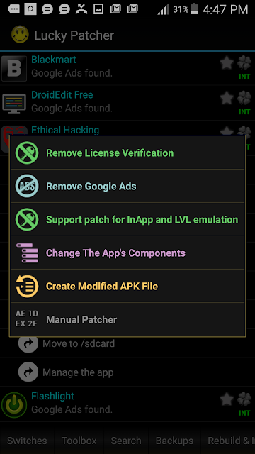 Remove annoying ads Android Apps and Games