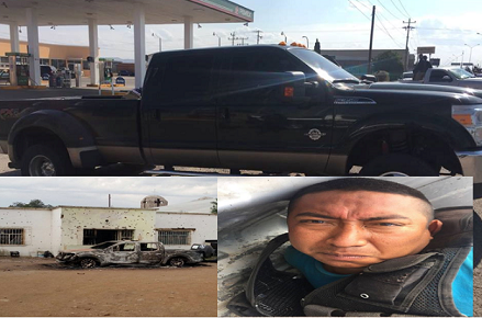 FOTOS;  Sicarios atacan y matan a policías municipales en Chihuahua