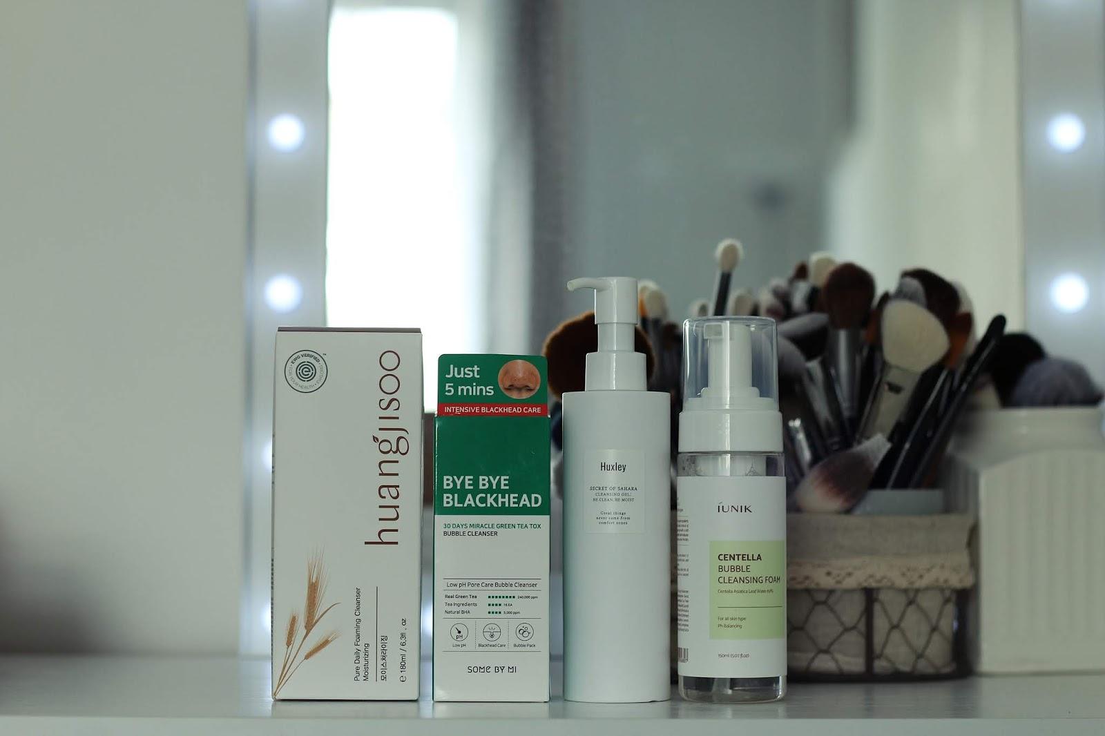 Koreańskie oczyszczanie twarzy