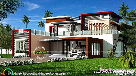 4030 sq-ft box model contemporary home
