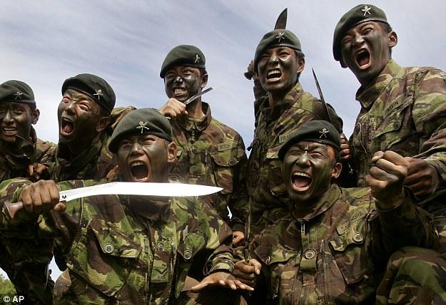 Hadang Militer Cina,  India Menawarkan Untuk Mengirim Gurkha Untuk Brunei