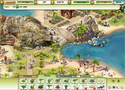 لعبة ادارة الوقت Paradise Beach