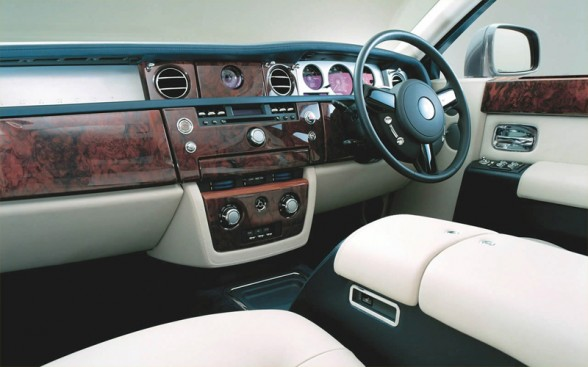 Rolls Royce Cars Interior