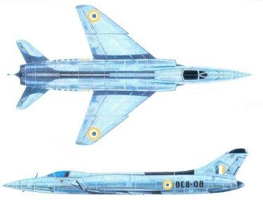 HF-24 Marut Aircraft Indian Air Force IAF - 006 - TN