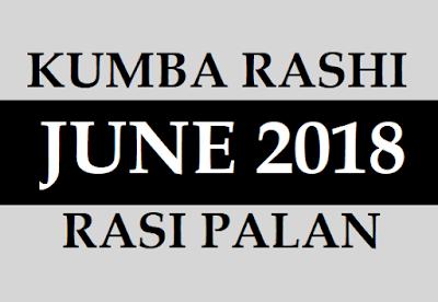 2018 June Kumbha Rasi Phalalu