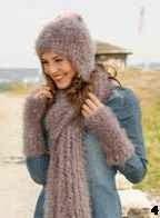 Patron gorro de punto, Hat knitting pattern
