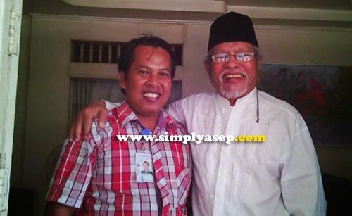 Selfie bersama Bapak H. A Halim R