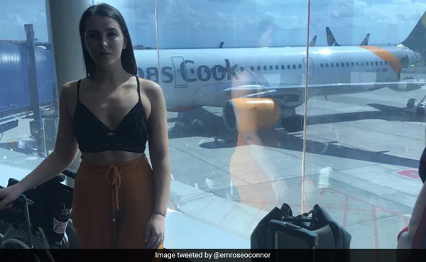 "Woman Ordered To Cover Up ""Offensive"" Crop Top To Board Flight, London, News, Allegation, London, Media, Flight, World"