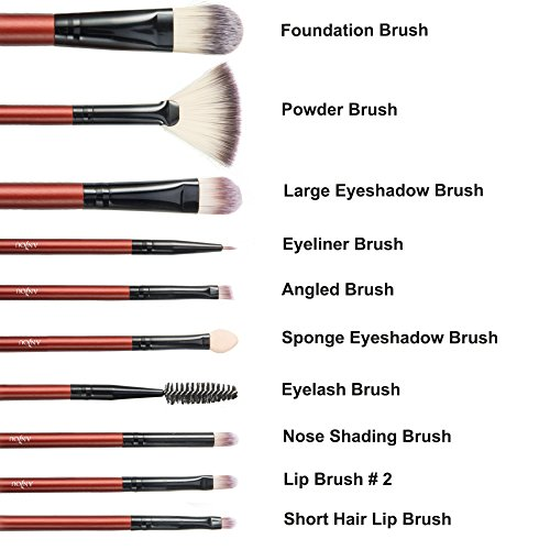 True Beauty Comes From Within: ANJOU MakeUp Brush Sets Review