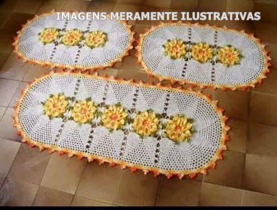 Encomende o seu trabalho de Crochê com a Claudiany