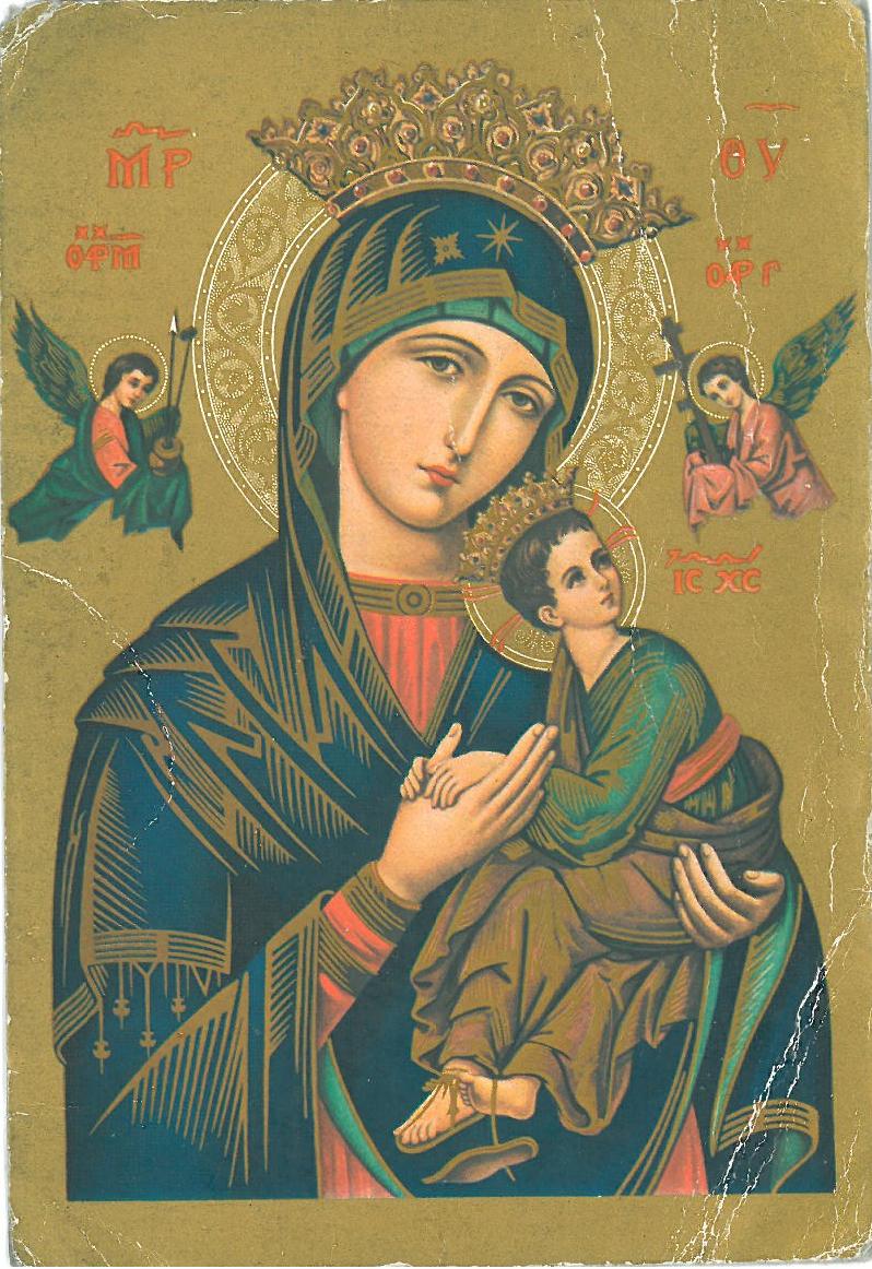 Notre Dame Du Perpétuel Secours : notre, perpétuel, secours, ICONOGRAPHIE, CHRÉTIENNE:, NOTRE-DAME, PERPÉTUEL, SECOURS