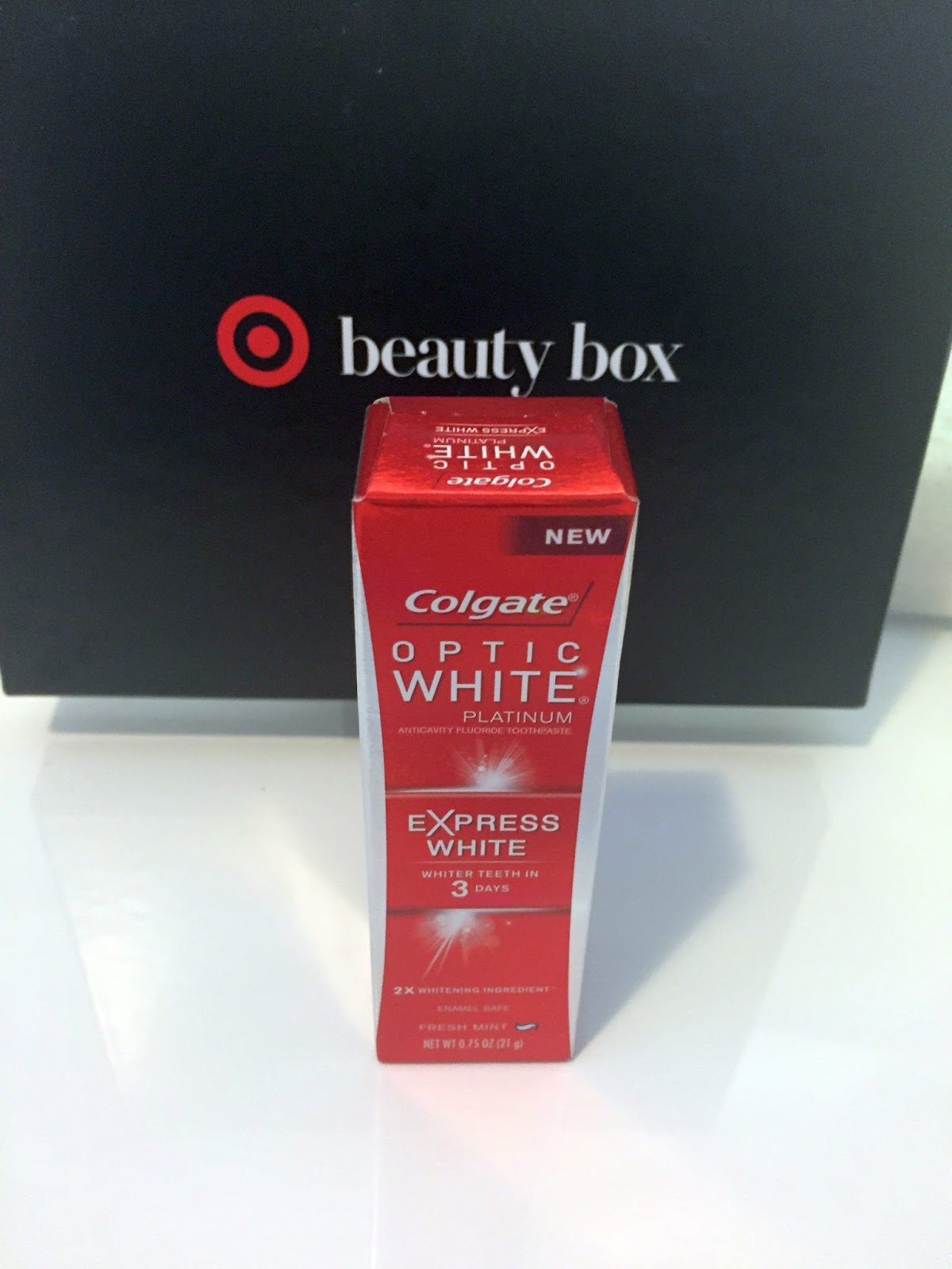 Beauty Review Colgate Optic White Platinum Express White