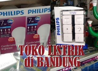toko alat listrik di Bandung