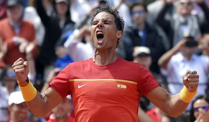 El pedido de Rafael Nadal para cambiar la copa davis y el calendario ATP.