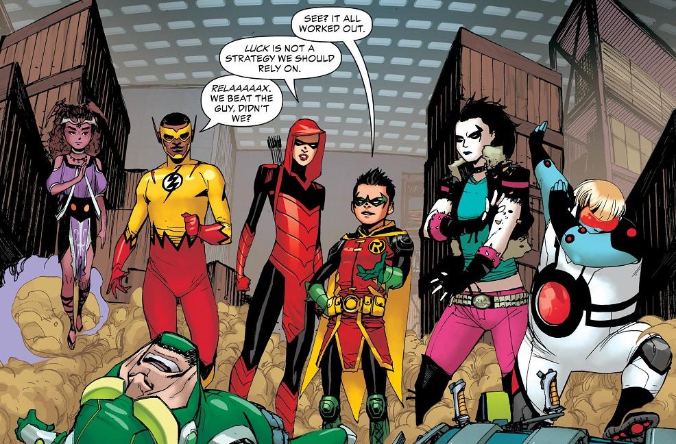 Infinite Earths Review Dc Comics Teen Titans 21
