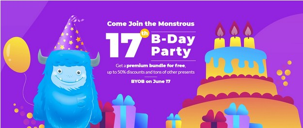 TemplateMonster Birthday Sale:  Up To 50%