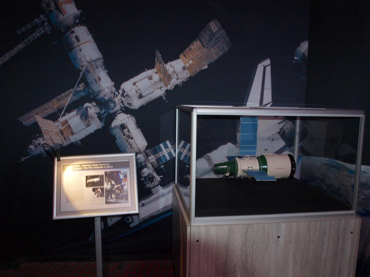 Salut - pierwsza stacja kosmiczna | Fot: polskiastrobloger.pl