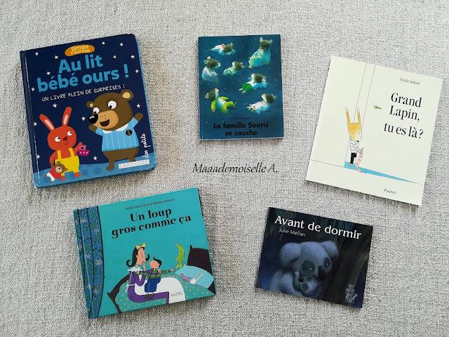 Sélection de livres sur la nuit