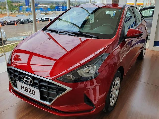 Hyundai HB20 2020 1.0 Vision