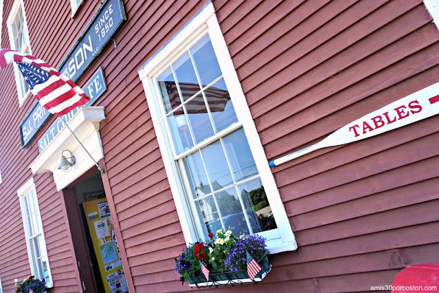 Salt Cod Cafe en Orr's Island, Maine