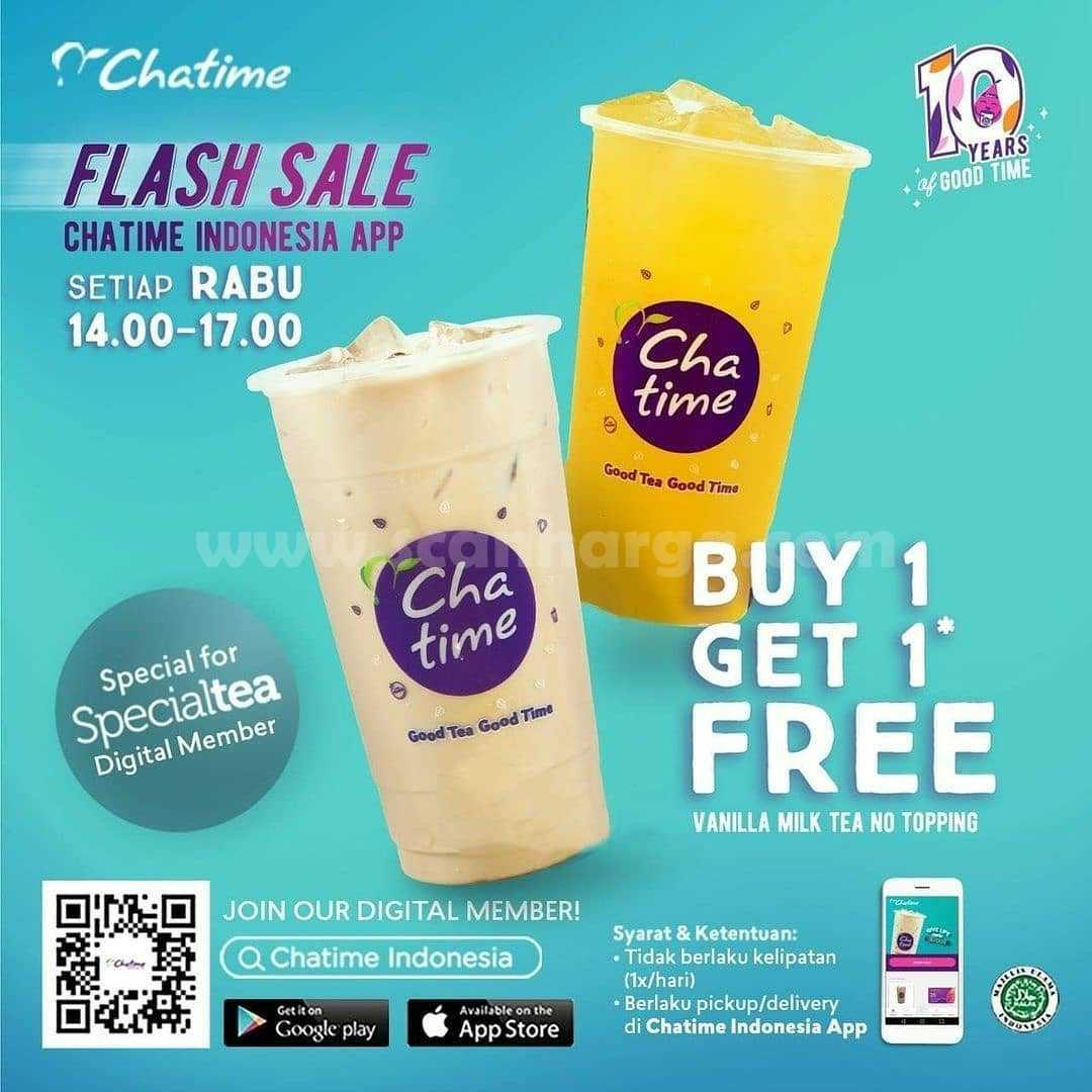 Promo Flash Sale hari Rabu