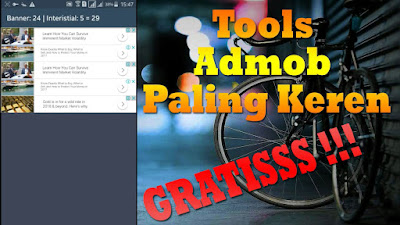 Bagi-bagi tools Admob Impression High CPC
