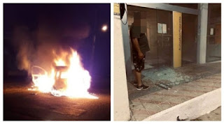 Bandidos armados assaltam agência bancária em Coremas