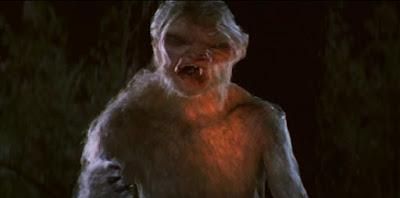 """""""Bad Moon"""" werewolf movie transformation scene"""