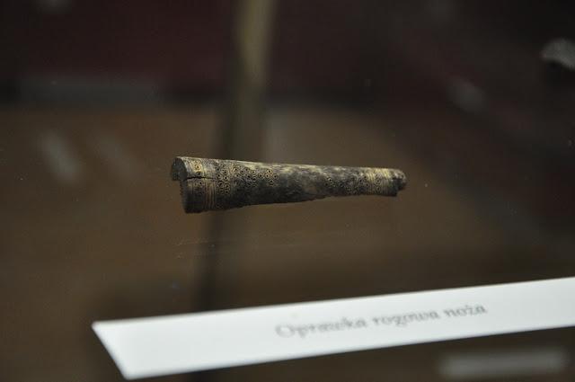 Oprawa noża znaleziona w Wolinie