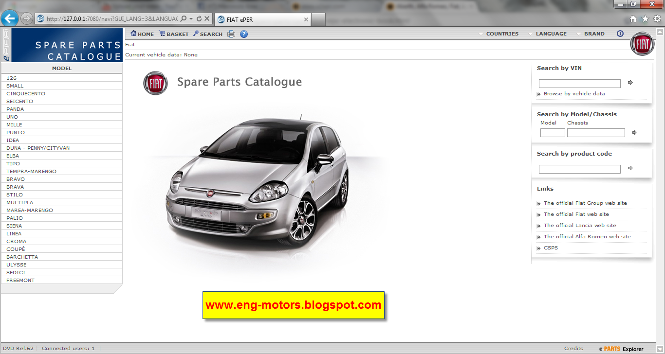 fiat parts catalogue