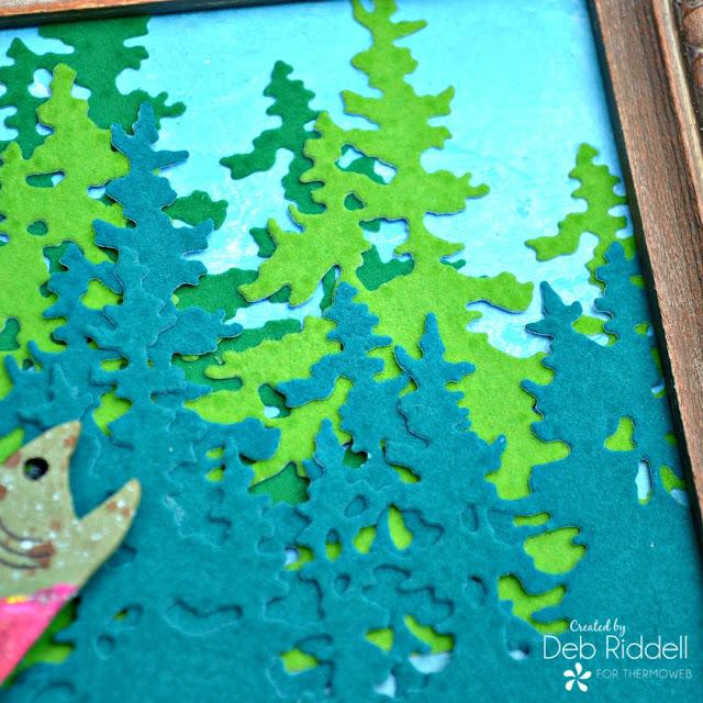 Gone Fishin' Frame detail