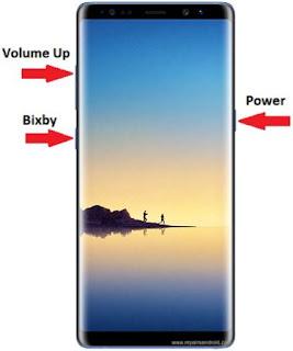 Hard Reset Samsung Galaxy Note 8 Ke Setelan Pabrik