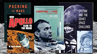 أفضل 5 كتب عن السفر إلى الفضاء
