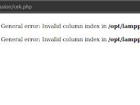 Return Value One Variabel on bindColumn PHP
