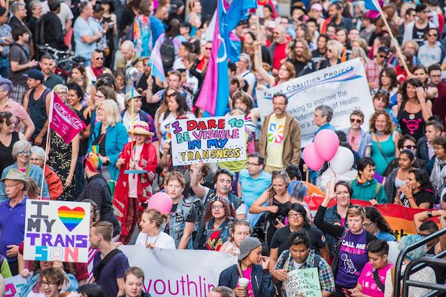 Une Marche trans