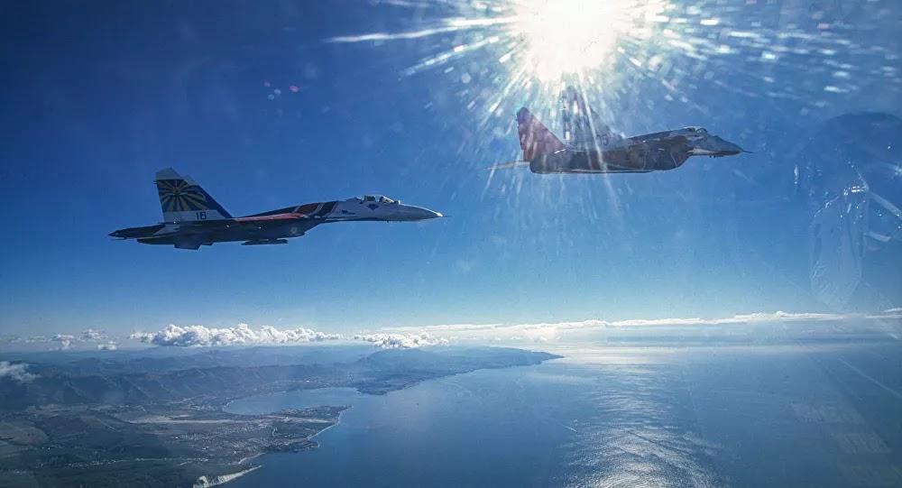 أمريكا تجري مناورات بحرية وجوية في البحر الأسود