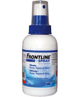 Thuốc xịt tiêu diệt ve chó, rận Frontline Spray 100ml - Sản phẩm của Pháp