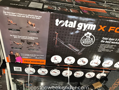 Burn some calories or build muscle with the Total Gym X Force