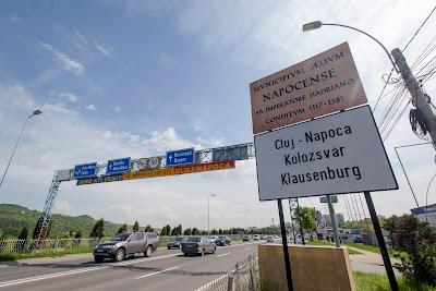 Kolozsvár, kisebbségi jogok, helységtáblák, Románia, Minority Rights, Cluj-Napoca, Klausenburg