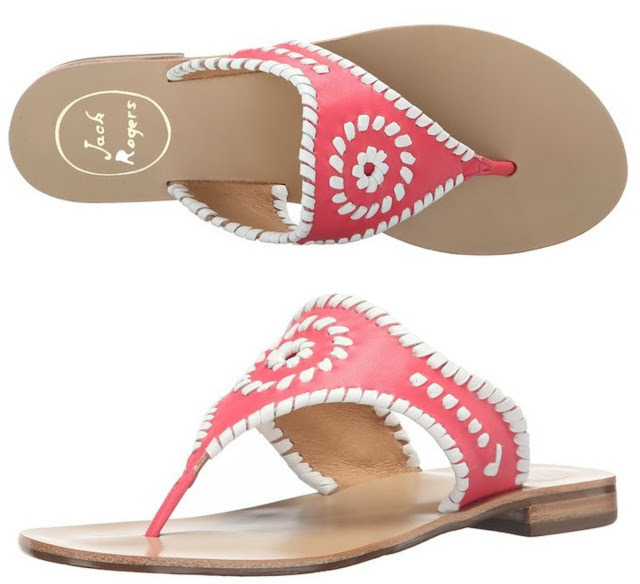 Hurry over to Amazon where you can pick up these Jack Rogers Blair sandals for only $61 (reg $128) + free shipping and returns (this color only)!
