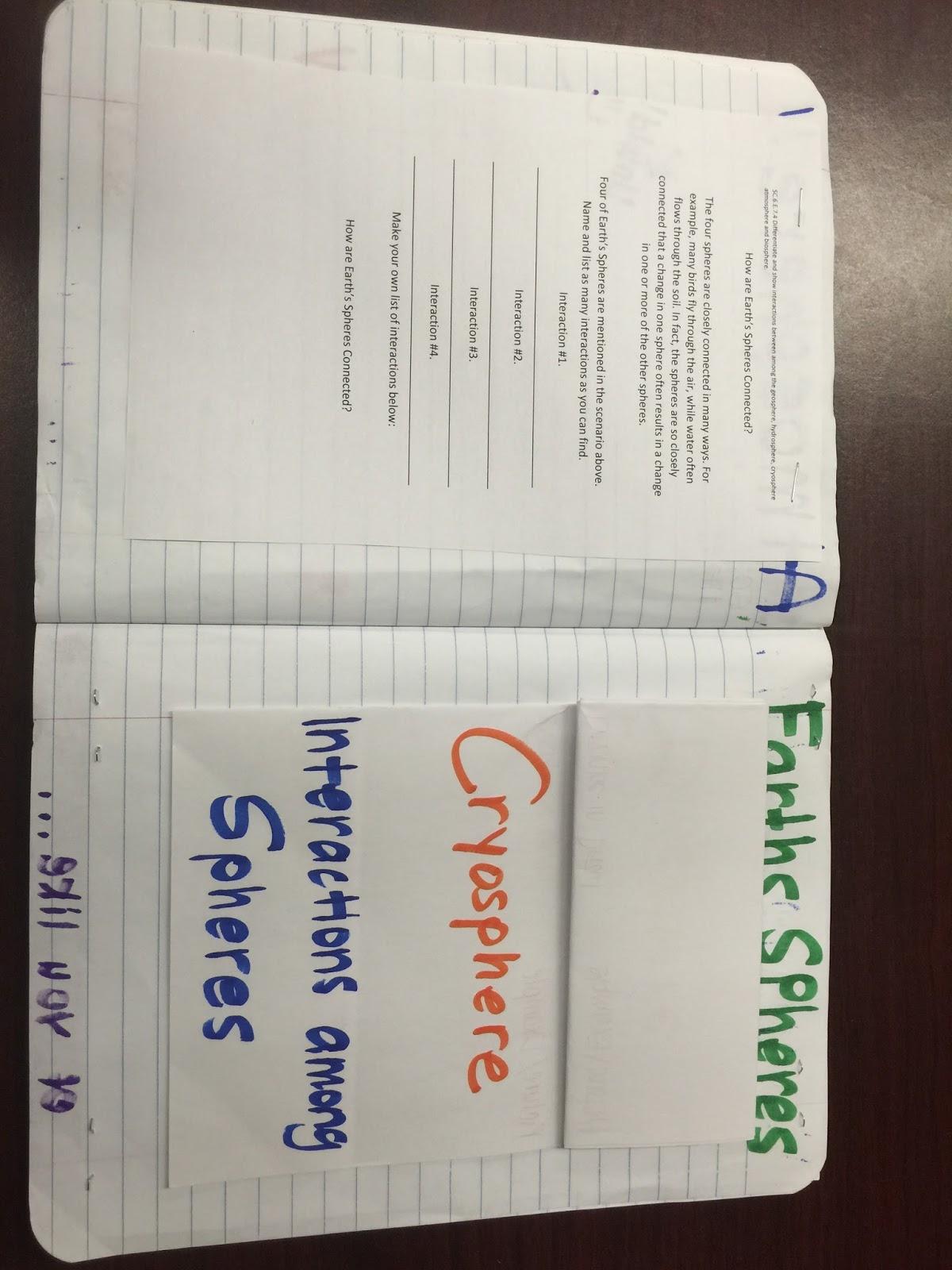 Missinous Science Classroom September