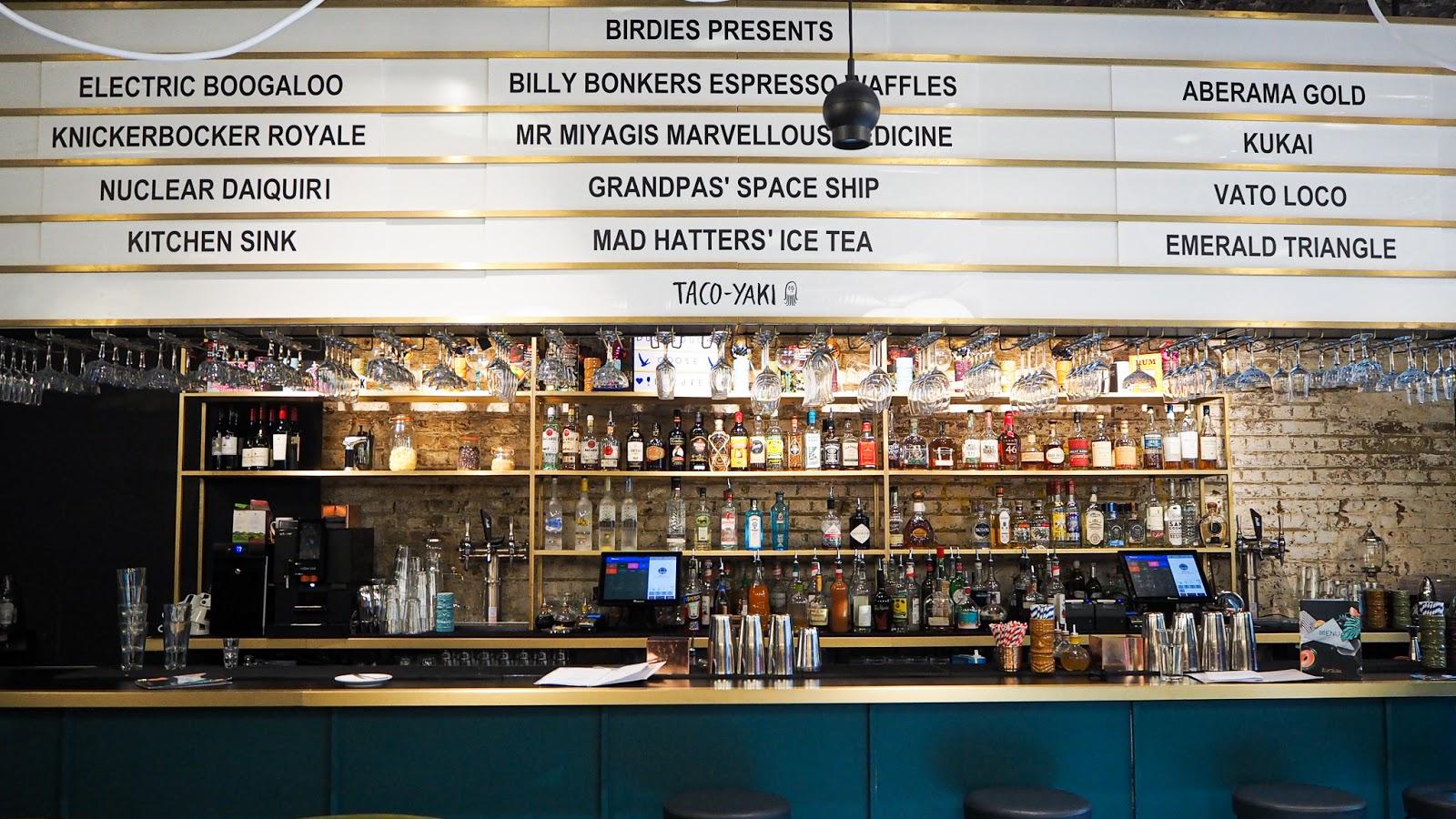 Bar at Birdies