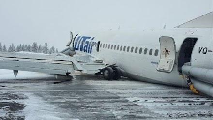 Ρωσία: Τρόμος στον αέρα για 94 επιβάτες Boeing - Η δραματική προσγείωση (VIDEO)