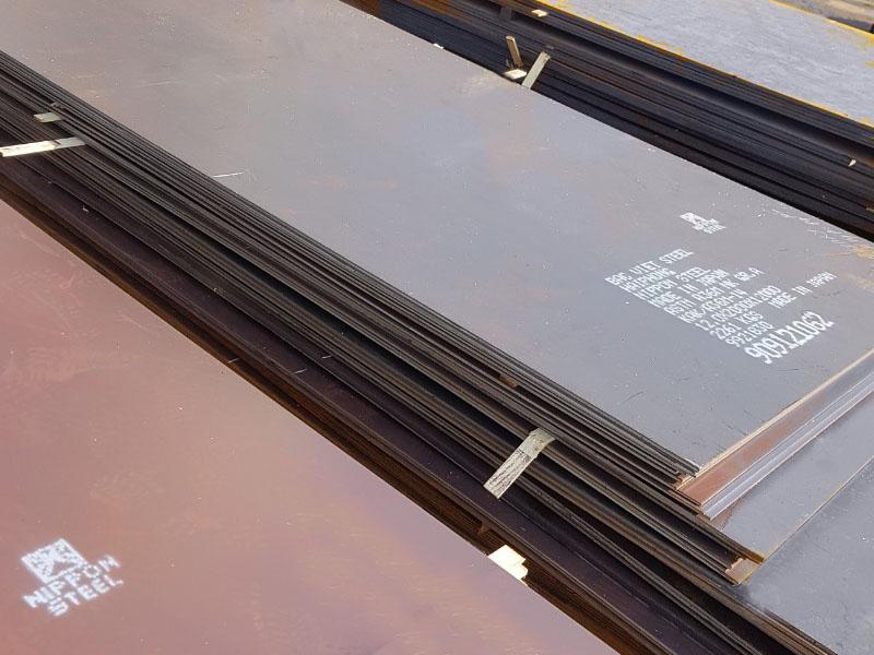 Thép tấm nhật ASTM A36, thép tấm đóng tàu AH36